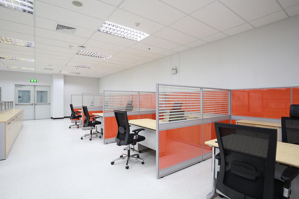 use modular office partitions
